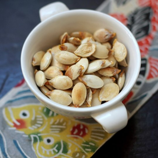Delicious and nutritious pumpkin seeds